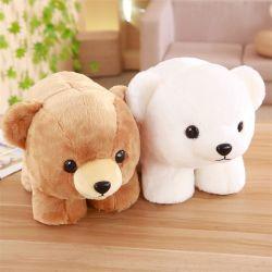 Accroupi Polar Bear Doll un jouet en peluche