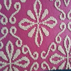 Nonwovenベロアによって感じられる単一カラー展覧会の床のジャカード針カーペットを打つため