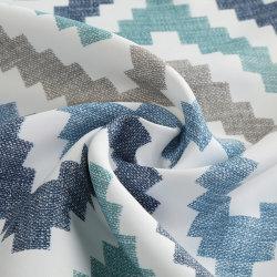 Современном стиле печати интервал недоступности шторки ткань