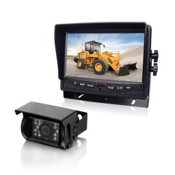 Autorearview-Kamera-System mit 7 Zoll HD Bildschirm-u. wasserdichter IR-Kamera