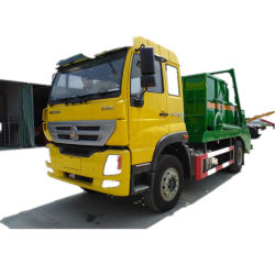 Il camion del costipatore dell'immondizia delle rotelle 6X4 di Sinotruk HOWO Homan16 Cbm 10 per spreco si raccoglie