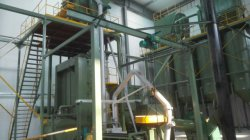 Rode loodoxide assembleer /Rode loodoxide Making machine/Rood lood Oxide