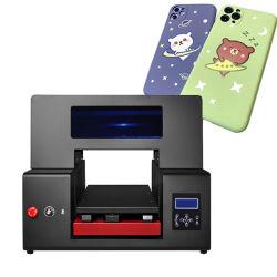 Cmyk+Ww färbt UVtintenstrahl-Flachbettdrucker für Verkauf