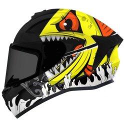 Accessoire moto protecteur de sécurité ABS Full face Helmet à moitié ouvert Jet modulaire Cross personnalisé pour Axxis Draken avec DOT & Cadenas pour certificats ECE disponible