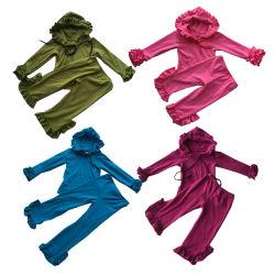 Comercio al por mayor ropa de Boutique infantil establece chica sudaderas con capucha Otoño Invierno Ropa de niña Boutique de ropa