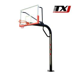 Le basket-ball de la formation de l'équipement électrique portable stand de basket-ball hydraulique arceaux
