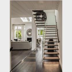 Deck utilizado piscina metal escadas/Coluna de aço escada em espiral preços