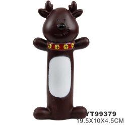 즐거운 성탄 애완 동물 비닐 연약한 성 애완 동물 찍찍하는 소리 장난감 (YT99379)