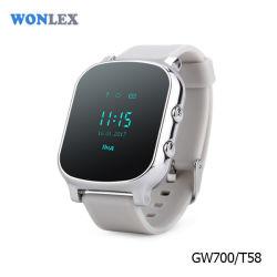 GPS van Wonlex het Waterdichte Volgende Slimme Horloge van de Jonge geitjes van het Apparaat Gw700/T58/het Horloge van de Telefoon van de Cel