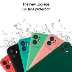 olio di 2.0mm TPU che spruzza la cassa del telefono di protezione degli occhi del coperchio del telefono iPhone11