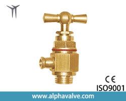 Banheira de venda Produto China fabricante da válvula de bronze Factory válvula globo latão forjado parar o ângulo da válvula de admissão de M3/8 (a. 0142)