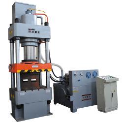 315 toneladas de polvo de la compactación de muela de suprimir cuatro columnas prensa hidráulica Máquina