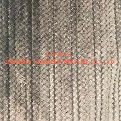 100% polyester jacquard tissu en flanelle pour les chaudes couvertures en laine polaire ou des vêtements ou Home Textile