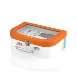 Serviette de papier personnalisés Box Boîte forme valise de coloriage