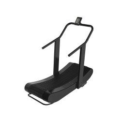 Salle de gym de l'équipement commercial Trealmill Self-Power courbe cardio fitness