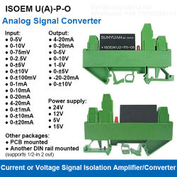[لوو كست] ضجيج سكّة حديديّة [0-5ف/0-10ف/1-5ف/4-20م/0-20ما] [أنلوغ سنل] عازل/عمليّة عزل مضخّم/عمليّة عزل محوّل جهاز إرسال