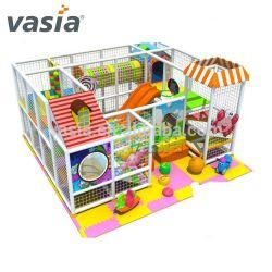 Kids Indoor Aire de jeux pour la vente UK avec matériel de terrain de jeu en plastique