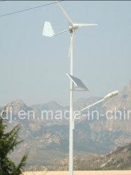 Éclairage routier complémentaire solaire et de vent