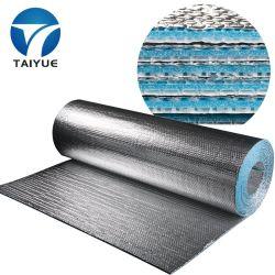Retardante de incêndio material de isolamento térmico folha de alumínio refletivo teto de bolha de isolamento térmico para construção de telhados