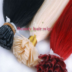 Het in het groot Braziliaanse Haar van het Uiteinde van de Spijker van Keratine van het Haar Remy, tip ik, plak Haar