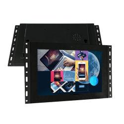 Nuevo vídeo digital HD de 10,1 pulgadas/reproductor de audio digital de imagen de bastidor abierto