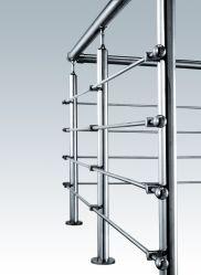 Edelstahl-Treppen-Balustrade-Handlauf-Befestigung für im Freienjobstep
