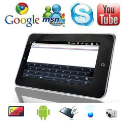 androïde PC van 2.2 Tablet 7 '' Google Netbook UMPC MEDIO WiFi 3G (km-001)