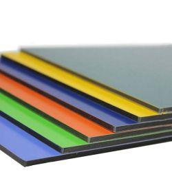 3mm het Samengestelde Comité van het 4mm Onverbrekelijke ACS Aluminium van de Prijs PVDF voor de Bekleding van de Muur