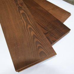 Tratada pelo calor de cinzas sólidos pisos de madeira