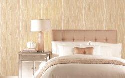 Papel de Parede Non-Woven Luxury 3D Menina Removable Home Decoração de Interiores Sala Rolos Frutos Grantie Pássaros Cartoon bordados PVC Ouro melhor elegante