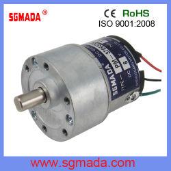 常置磁気6V 12V 24Vのブラシ電気DCギヤモーター