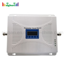أحدث جهاز تكرار رباعي النطاق Jio LTE بسرعة 850 ميجاهرتز GSM 900 ميجاهرتز DCS UMTS بسرعة 1800 ميجاهرتز إشارة الهاتف المحمول الداعم إرسال إشارة الهاتف المحمول جهاز تكرار الهاتف المحمول للمكتب