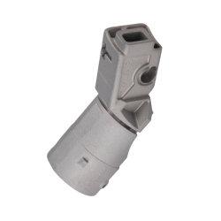 ألومنيوم جديد مخصص مخصص للخدمة من الألومنيوم المصبوب من الرمال مطلي بطبقة من الأكسيد الزينك مع خدمة تحويل CNC