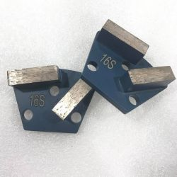 Uno strumento stridente dei 2 della barra del metallo diamanti del trapezio per il pavimento di calcestruzzo