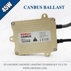 Ас с ксеноновыми лампами высокой интенсивности тонкий Gq4 Canbus балласт 45W 55W