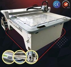 Caixa de plástico de PVC de camada única Interruptor Automático do modelo de máquina de corte padrão de papelão de resfriamento de água calma Softtouch gabarito pneumática do painel de controle