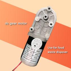 Elektromotor 12/24 Volt-Gang-Motor8 U/Min kleiner Gleichstrom-Motor für Nahrungsmittelabfall Disposer