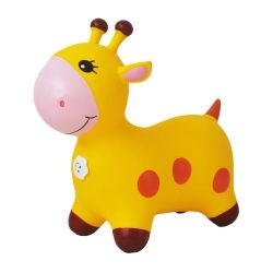 Saut de cheval gonflables pour enfants de maternelle en caoutchouc de montages épaississement de la protection environnementale des animaux