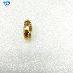 8 mm de l'Engagement de carbure de tungstène en or jaune bague de mariage Anneau pour les anneaux de Mens de bijoux faits main