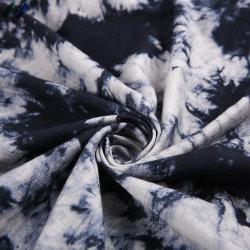 La mode en pur coton Tricot Tricot imprimé ou de couleur unie pour vêtements en tissu ordinaire