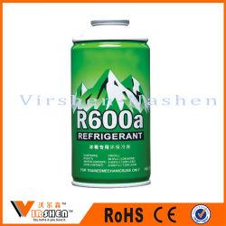 Petites boîtes de conserve de haute pression gaz réfrigérant R600A