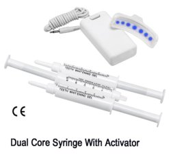 Le blanchiment des dents Kit, kit d'accueil, accélérateur Non-Peroxide, 7led