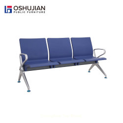 New Design 3 Seater PU Airport Waiting Chair Hospital gang Stoel