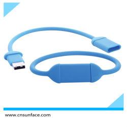 محرك أقراص USB محمول بسمك سيليكون رخيص سعة 8 جيجابايت بسرعة 4 جيجابايت 2.0