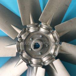 F300 литой алюминиевый нож осевой вентилятор для высокой температуры окружающей среды