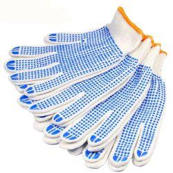 Construction de la main en cuir des gants de sécurité