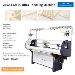Único sistema informatizado de tricotosa precio de fábrica de máquina plana de Jacquard de suéter tejido plana