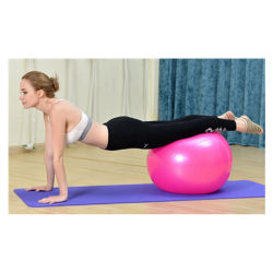 Exercício ambientais do PVC Equilíbrio Pilates Ioga Fitness Ball