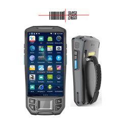 인조 인간 소형 휴대용 무선 제 2 생물 측정 지문 독자 PDA