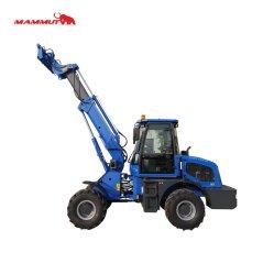 CE 승인 Tl1600 1600kg 굴절식 전방 텔레스코픽 휠 로더(포함) 신차이 유로 3 엔진